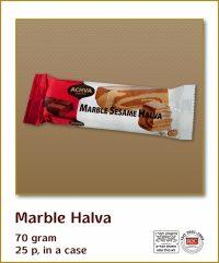 Halva Bars Marble 70G