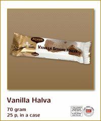 Halva Bars Vanilla 70G