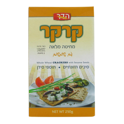 Hader Whole Wheat Cracker Sesame 250G