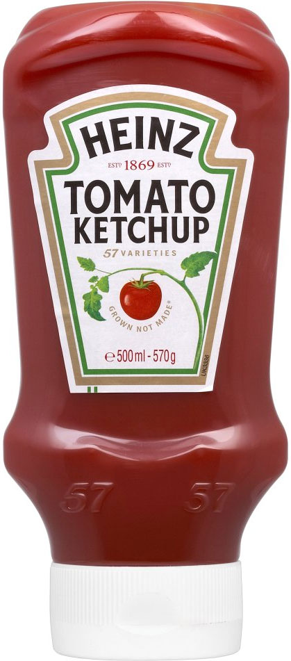 Heinz Tom Ketchup Topdown 570G