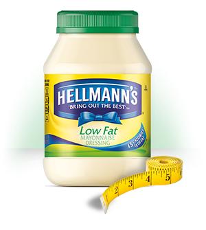 Hellman Mayonnaise Low Fat (Green) 420G