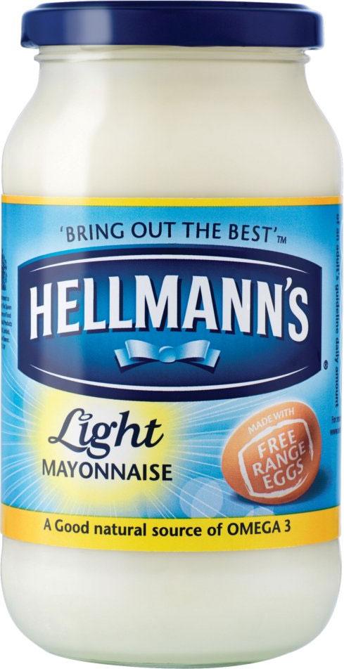 Hellmans Mayonnaise Light (Li Blue) 420G