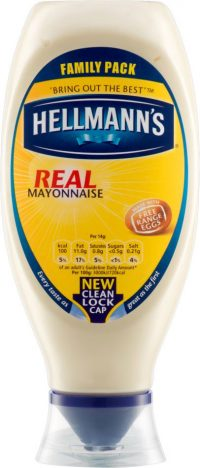 Hellmans Real Mayonnaise Squeeze 280G