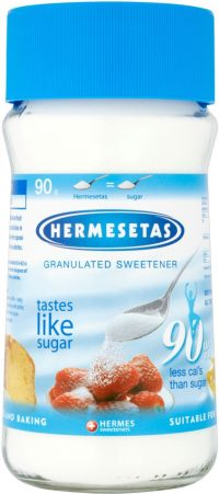 Hermesetas Granulated Jar 90G