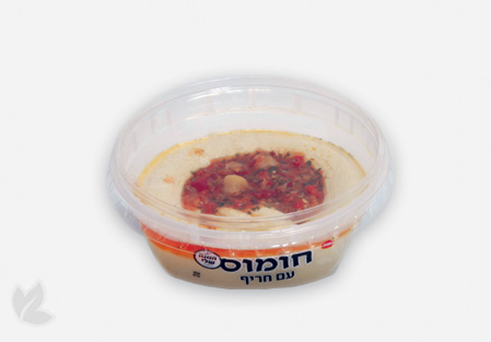 Houmous with Piquant Sauce 300g