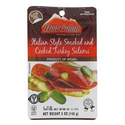 Italian Turkey  Salami Style Smoked 142G