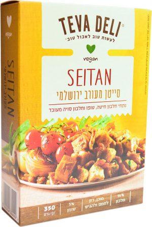 Jerusalem Mix Vegetarian Seitan with Tofu 350G Teva Deli