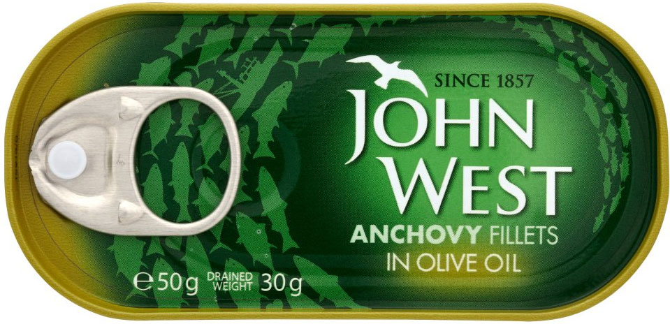 John West Anchovies 50g