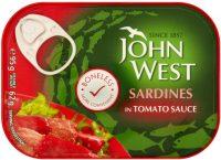 John West Boneless Sardines Tomato 95G