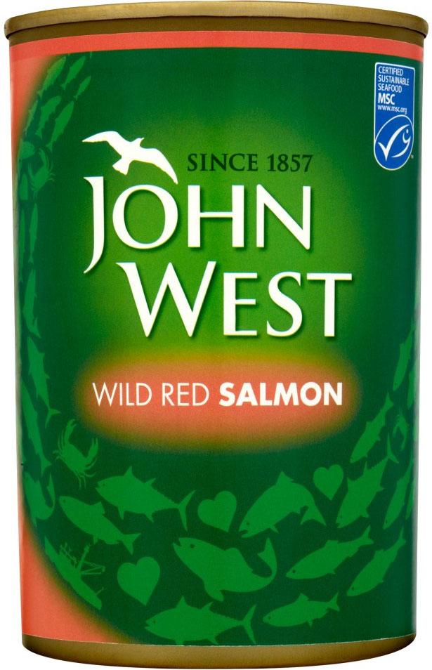 John West Red Salmon 418G