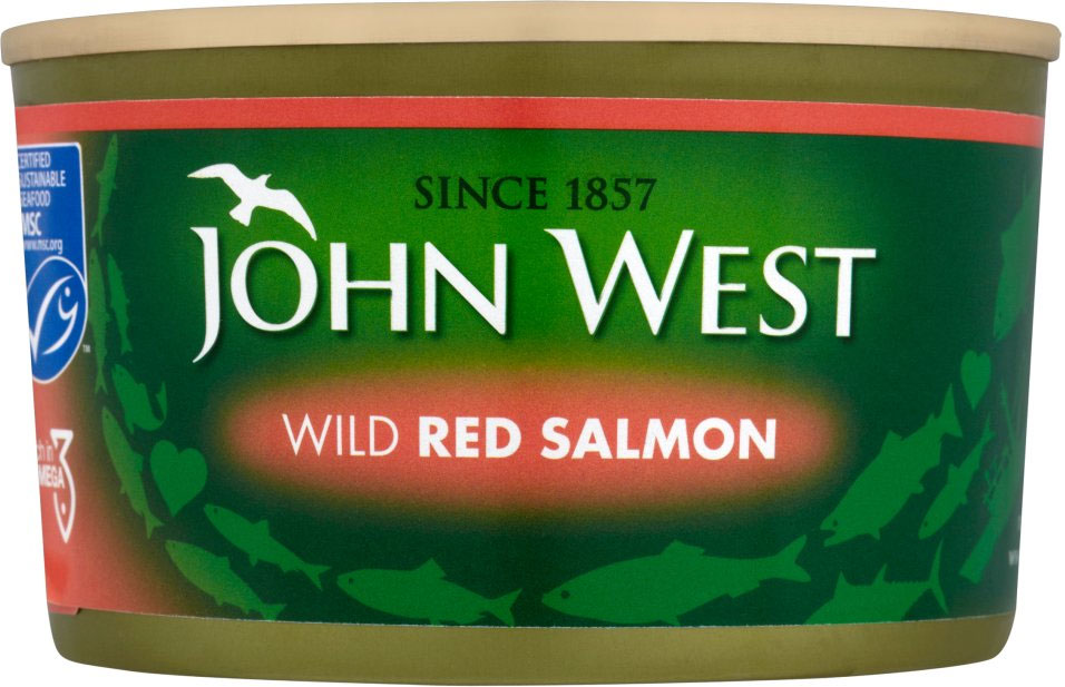 John West Red Salmon 213G