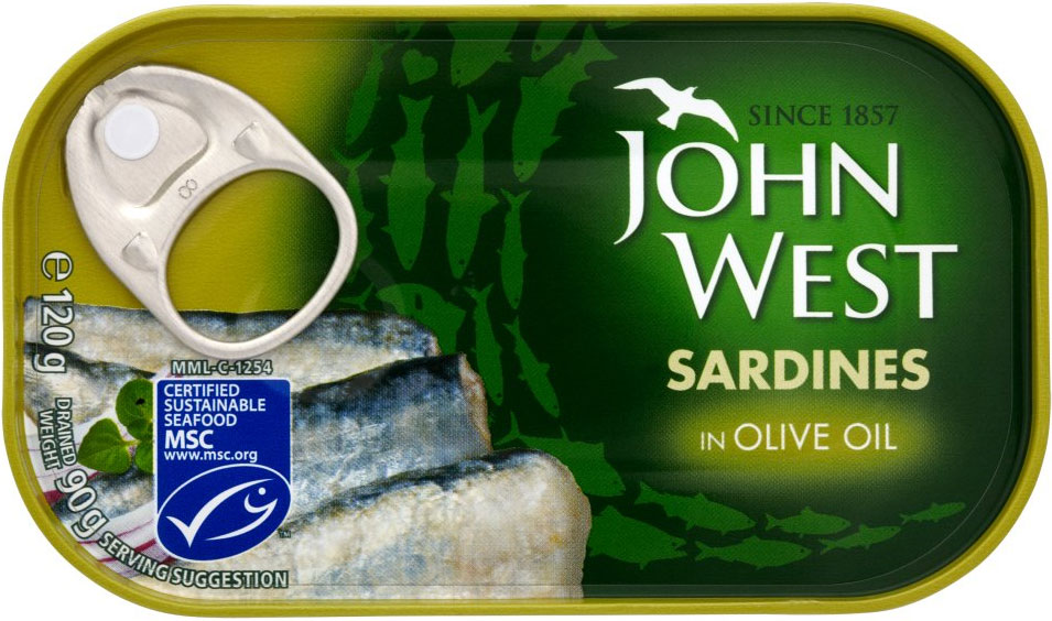 John West Sardines In Olive Oil 120G