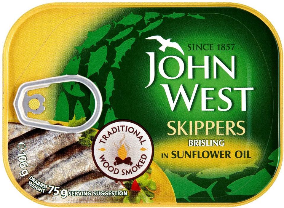 John West Skipper In Oil 106G