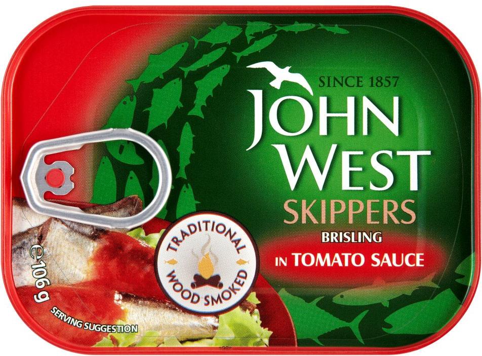 John West Skipper In Tomato 106G