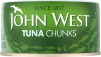 John West Tuna Spring Water 185G