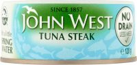 John West Tuna Steak Brine 200G