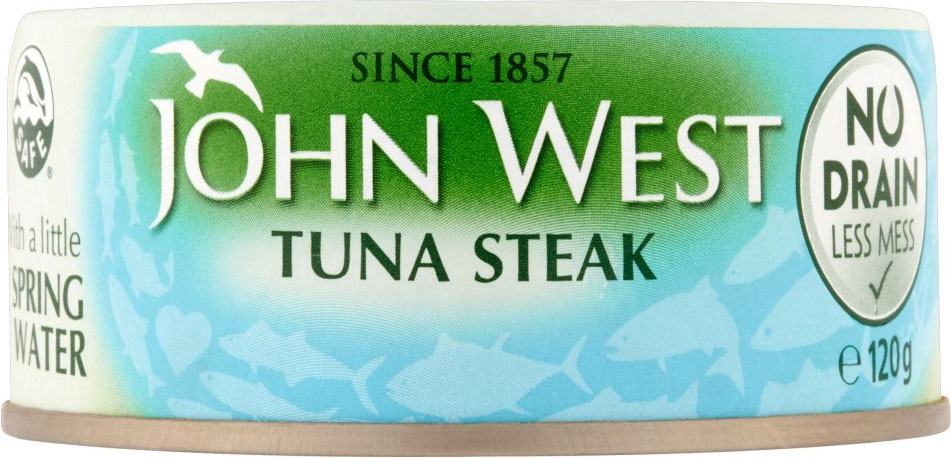 John West Tuna Steak Brine 200G