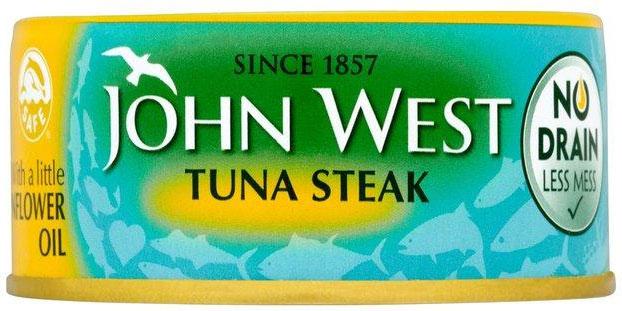 John West Tuna Steak Oil 200G