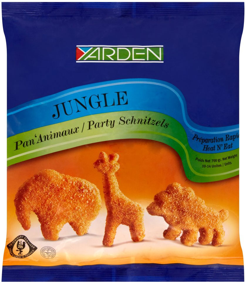 Jungle Party Schnitzels 700G