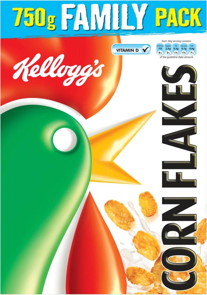 Kelloggs Corn Flakes 750G