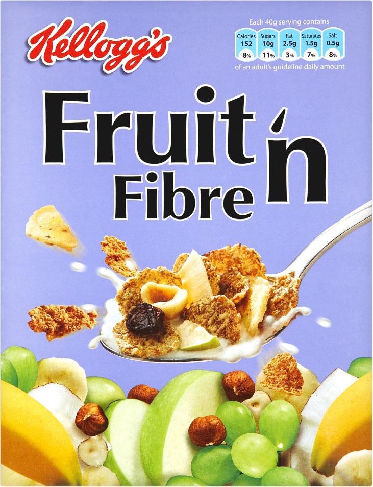 Kelloggs Fruit 'n Fibre 375G