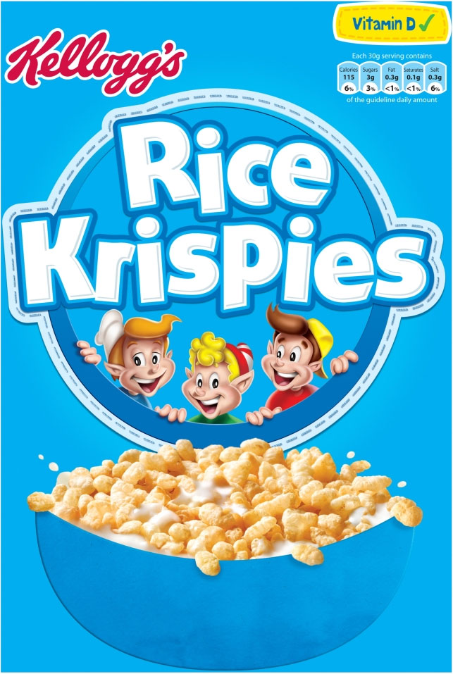 Kelloggs Rice Krispies 340G