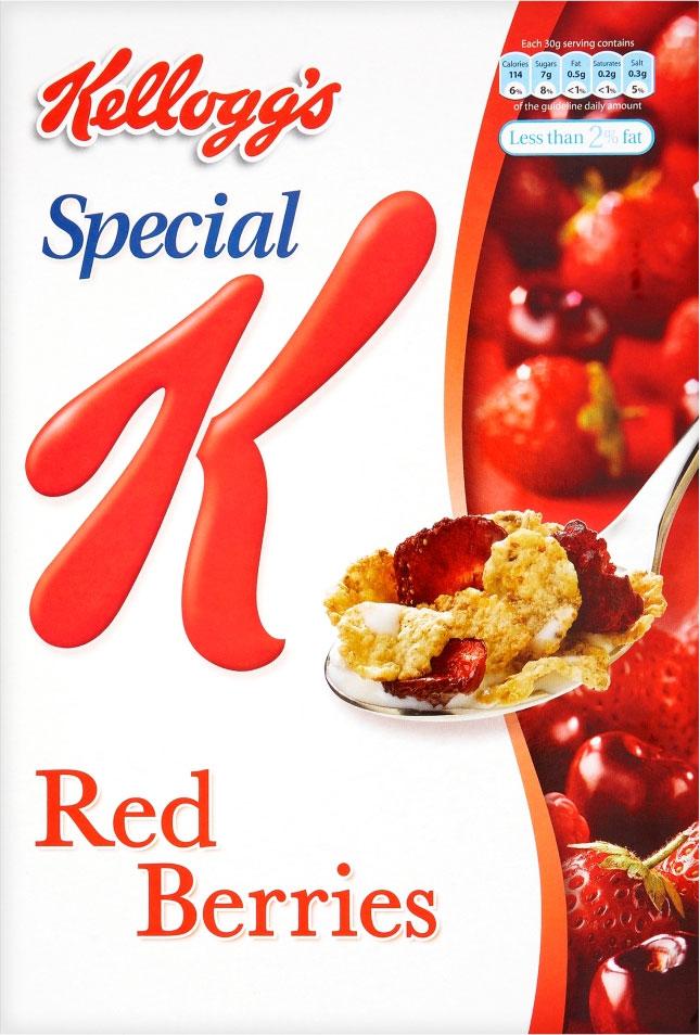 Kelloggs Special K Red berries 320G