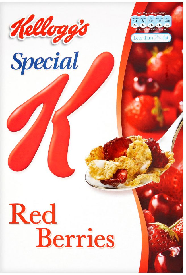 Kelloggs Special K Red berries 375G