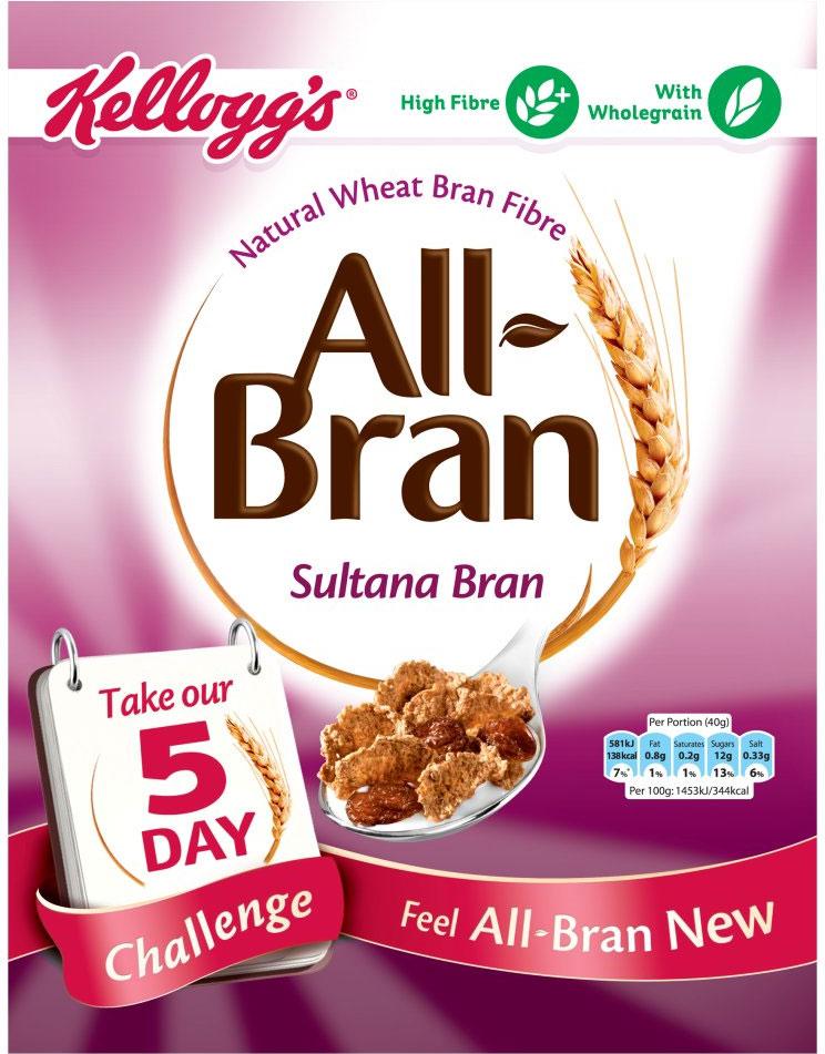 Kelloggs Sultana Bran 500G