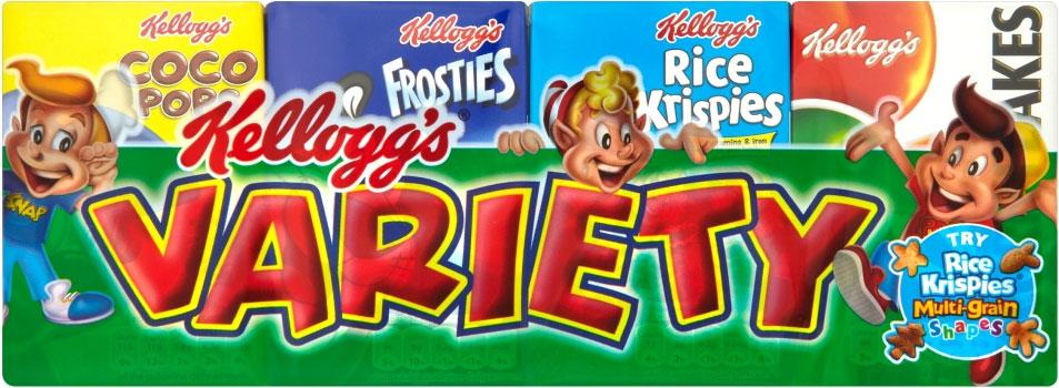 Kelloggs Variety Pack 8pc