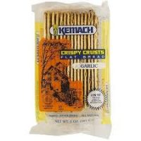 Kemach Flat Bread Garlic 141G