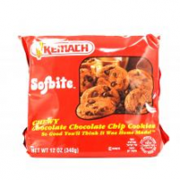 Kemach Sofbite Chocolate Chocolate chip Cookie 340G