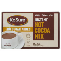 KoSure Instant Hot Cocoa Mix No Sugar Added 119G