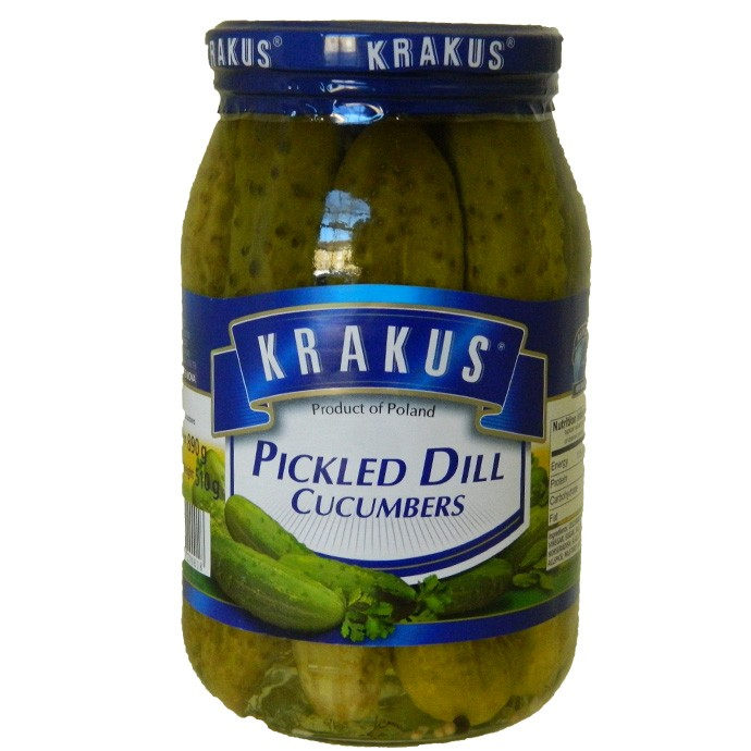 Krakus Dill Cucumbers 860G