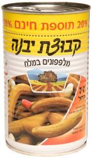 Kvutzat Yavne Cucumber In Brine 7-9 +20% 560G