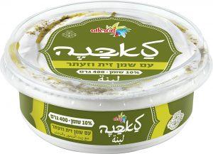 Labaneh 10% with Olive Oil ַַ& Zaatar Strauss 400G