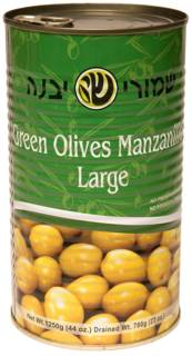 Large Olive Mnznilo Tin 560G