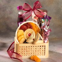 Luscious Lavender Purim Gift Basket