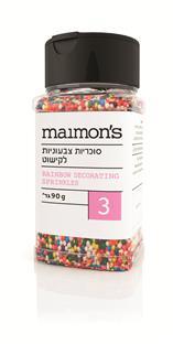 Maimon's Coloured Sprinkles 90G