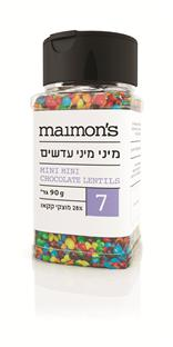 Maimon's Mini Mini Chocolate Colouredlentils 90G