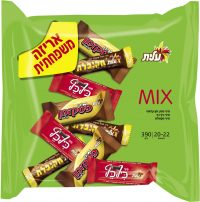 Mini Mix Chocolate Bars In Bags  Green 390G