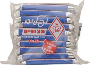 Man Coated Wafer 10 pc