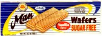 Man Sugar Free Wafer Vanilla 180G