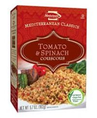 Manishewitz Couscous Tomato Spinach 162G