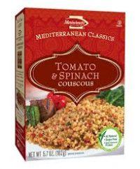 Manishewitz Couscous Tomato Spinach 162G