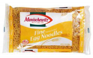 Manishewitz Fine Egg Noodle 250G