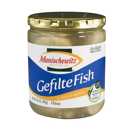 Manishewitz Gefilte Fish 411G