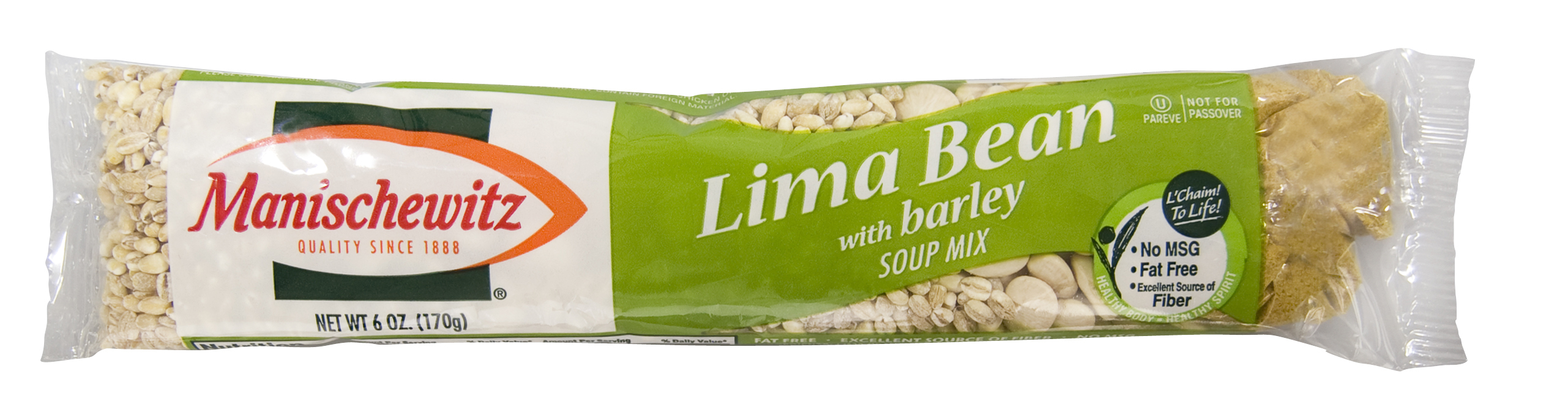 Manishewitz Lima Bean & Barley Mix 170G