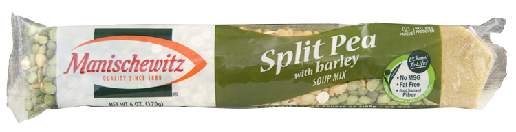 Manishewitz Split Pea & Barley Mix 170G