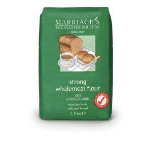 Marriages Wholemeal Flour (Green) 1.5KG